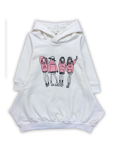 By Leyal For Kids Sweatshirt Beyaz